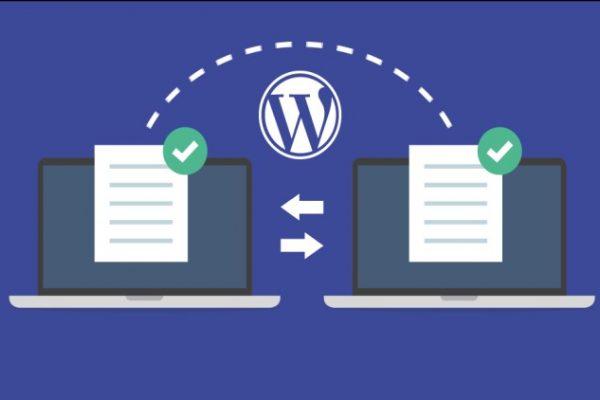 wordpress siteyi taşıma